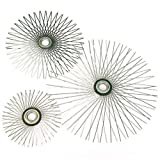 Chimney 44225 8 Inch Flat Star Wire Brush For Viper For 6 Inch Flue