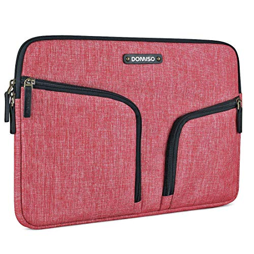 DOMISO 10.1 Inch Waterproof Laptop Sleeve with Back Handle Canvas Case  Protective Bag for 10.1- 354def11d088c