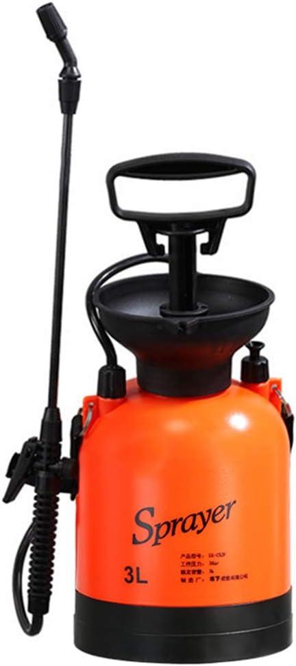 Pulverizador profesional para jardín, pequeño pulverizador de presión de 3 l, pulverizador de jardín, pulverizador de medio ambiente, reutilizable, bomba de compresión de mano duradera: Amazon.es: Amazon.es