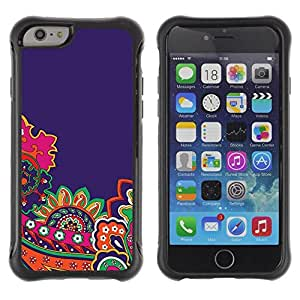 "Pulsar iFace Series Tpu silicona Carcasa Funda Case para Apple (4.7 inches!!!) iPhone 6 , Bricolaje Oro Papel Rosa Marrón"""
