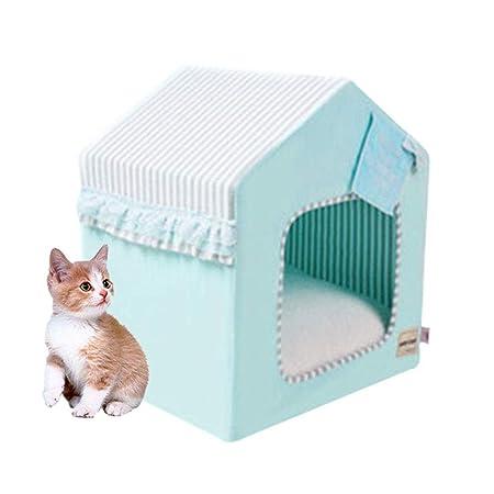 DYYTRm Cama Plegable portátil Grande para Gatos, casa para ...