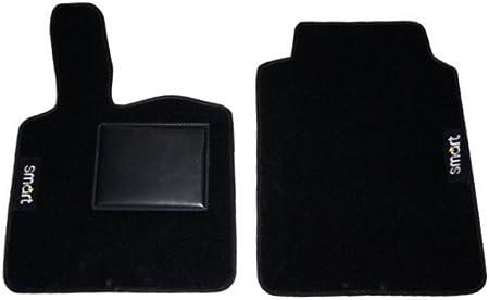 Tappeti AUTO//auto-TAPPETINI NERO PER SMART FORTWO 451 dal anno 2007