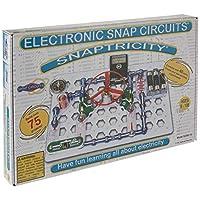 Snap Circuits Snaptricity Electronics Exploration Kit   Más de 75 proyectos STEM   Manual de proyecto de 4 colores   40 módulos Snap   Diversión ilimitada
