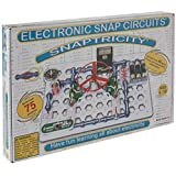 Snap Circuits Snaptricity Electronics Exploration Kit   Over 75 STEM Projects   4-Color Project Manual   40 Snap Modules   Unlimited Fun