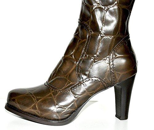 Tentazione Italia Fashion Damenstiefel Coccone Oak Schokobraun 21632