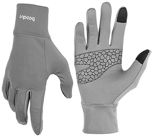 BOODUN Gloves Touch Windproof Gloves Warmer Hand Gloves Men and Women Anti-Skid Gloves for Climbing