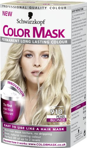 schwarzkopf color mask 910 pearl blonde - Color Mask Chatain Clair