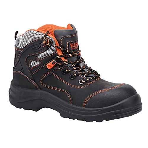 GR48 Orange sécurité T SP5023 Control Taille Chaussures II de S3 Gris Paredes 48 5BA4Tpq