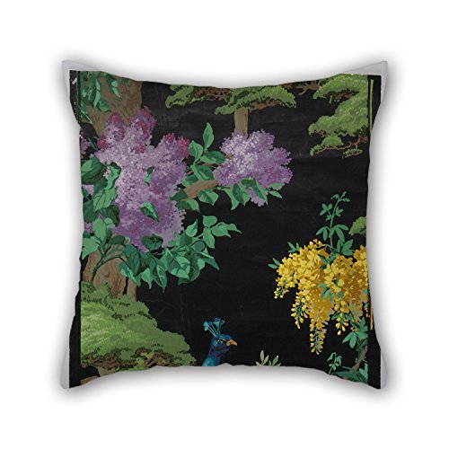 [MaSoyy 20 X 20 Inches / 50 By 50 Cm Oil Painting Arthur Sanderson Sons, Ltd. - The Cedar Tree Throw Cushion Covers 2 Sides Ornament And Gift To Saloon Seat Home Couch Christmas Drawing Room] (Sanderson Quilt)