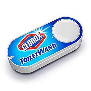 Clorox Toilet Wand Dash Button from Amazon