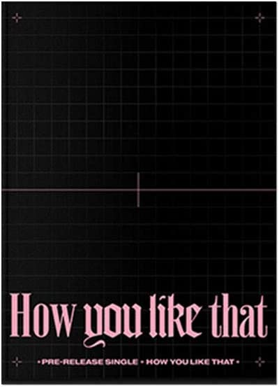 YG Entertainment Idol Goods Fan Products YG Select Blackpink Special Edition [How You Like That] YG Select photocard