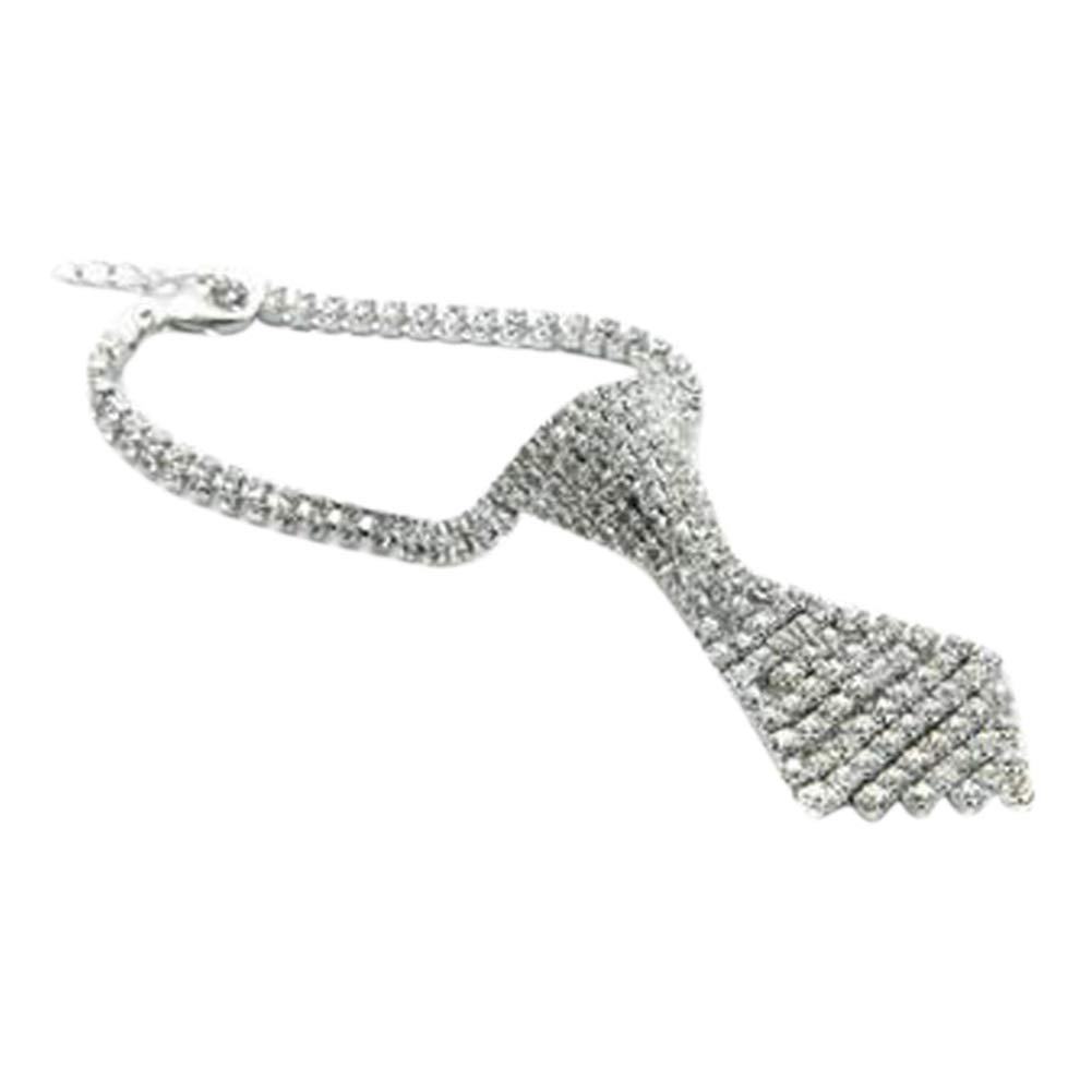 Maritown Necklaces for Small Cats /& Dogs,Pet Personalised Rhinestone Collar Adjustable BlingBling Diamond Necklaces for Elegant Wedding Party