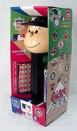 (Charlie Brown Giant Pez - Milwaukee Brewers)
