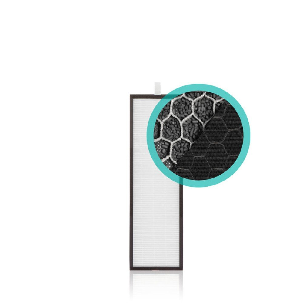 Alen HEPA-Fresh Replacement Filter removes Dust, Allergens, Chemicals and VOC's from the air for T500 Air Purifier, 10-Pack