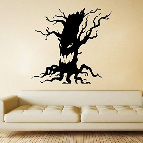 WUAI Home Decoration Halloween Decor Gift Terror Tree Wall Stickers Art Party Decal Mural Room Paper