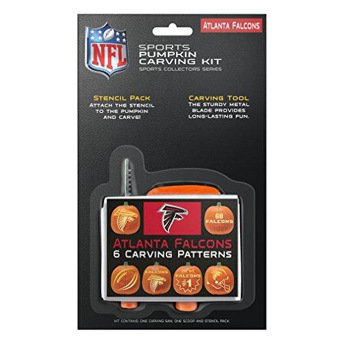 Halloween Costumes In Atlanta (NFL Atlanta Falcons Pumpkin Carving Kit)