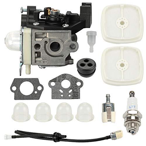 Venseri RB-K93 Carburetor with Gasket + Air Filter Tune Up Kit for Echo SRM225 SRM225i SRM225SB SRM225U GT225 GT225i GT225L Trimmer Brushcutter PE225 PAS225 SHC225 SHC225S PPF225 Pole Pruner