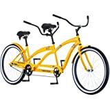 "26"" Tandem Bike Cruiser Giant Bicycle Women Men Cycling Road Bikes 2 Seater Bicycles Adults Cycle Beach Cruisers NEW"