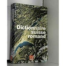 Dictionnaire suisse romand [ancienne édition]