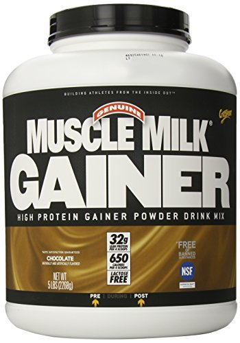 Cytosport Muscle Milk Gainer Supplement, Chocolate, 5 Pound by Muscle Milk