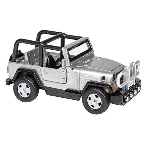 Silver Jeep - 1