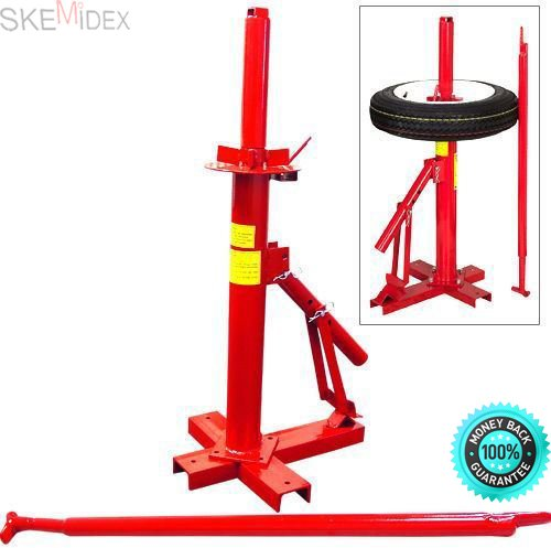 SKEMIDEX---New Manual Portable Hand Tire Changer Bead Breaker Tool Mounting Home Shop Auto And Lawn Mower Wheels And Automotive