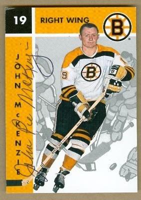 (John McKenzie autographed Hockey Card (Boston Bruins) 1996 Parkhurst #10 - Autographed Hockey Cards)