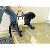 KomfyFleece Dog Mobility Sling Lift Harness, 10 by 26-Inch (large),  Beige
