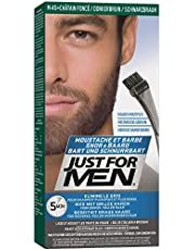 Just For Men Moustache & Barbe Teinture Barbe, Châtain Foncé - 28 g