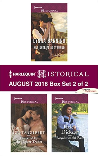 book cover of Harlequin Historical August 2016 - Box Set 2 of 2