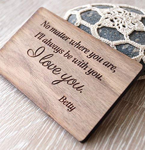 Amazon Com 5th Wedding Anniversary Gift Idea Wooden Anniversary