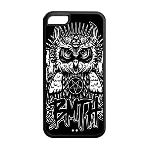 LJF phone case LeonardCustom Protective Hard Snap On TPU Rubber Phone Case for ipod touch 4 , Bring Me The Horizon