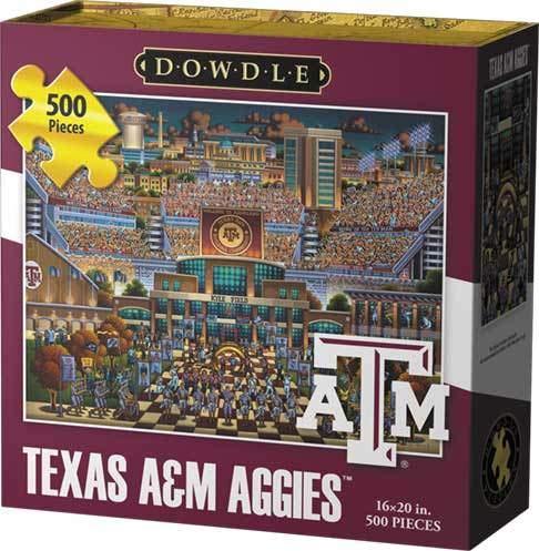 Dowdle Jigsaw Puzzle - Texas A&M Aggies - 500 Piece
