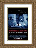 Paranormal Activity: The Ghost Dimension 18x24 Double Matted Gold Ornate Framed Movie Poster Art Print