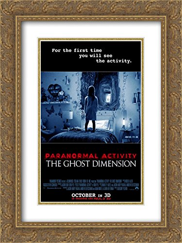 Paranormal Activity: The Ghost Dimension 18x24 Double Matted Gold Ornate Framed Movie Poster Art Print by ArtDirect