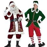 Christmas dress santa men's costume (20025) (20026)