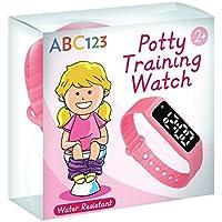 ABC123 Potty Reloj de entrenamiento – Recordatorio de bebé resistente al agua temporizador para entrenamiento de inodoro niños y niños
