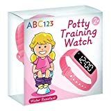 ABC123 Potty Training Watch - Baby Reminder Water Resistant Timer for Toilet Training Kids & Toddler (Pink): more info