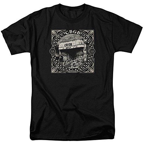 CBGB - Front Door - Adult T-Shirt - XL - Front Mink