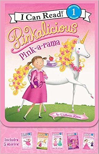 Amazon Com Pinkalicious Pink A Rama I Can Read Level 1