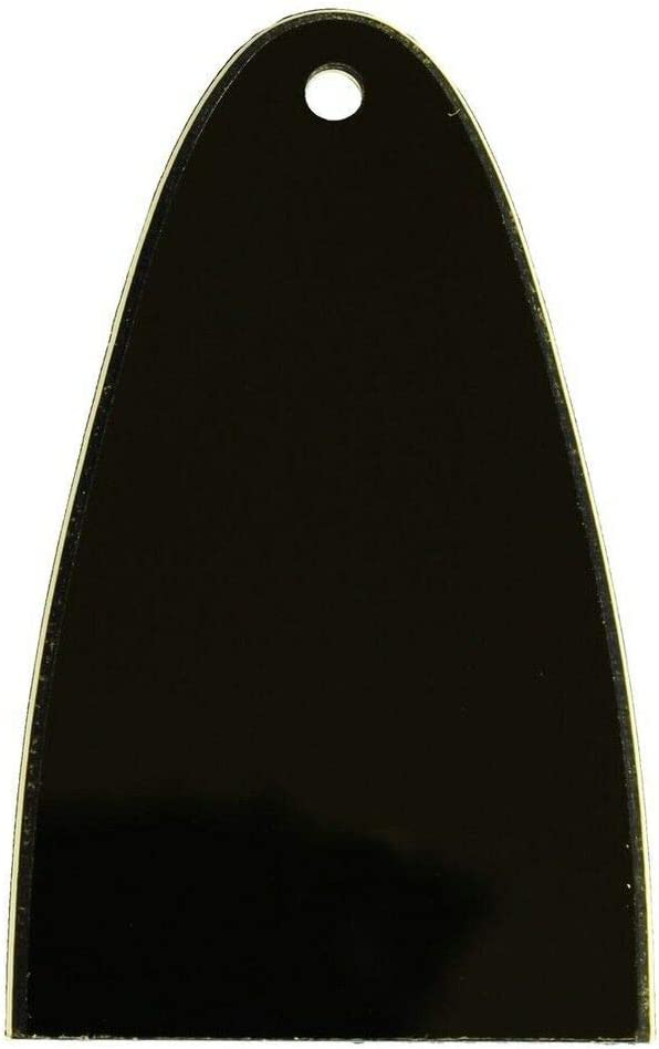1 Truss Rod Cover Blank Black for Schecter Guitars