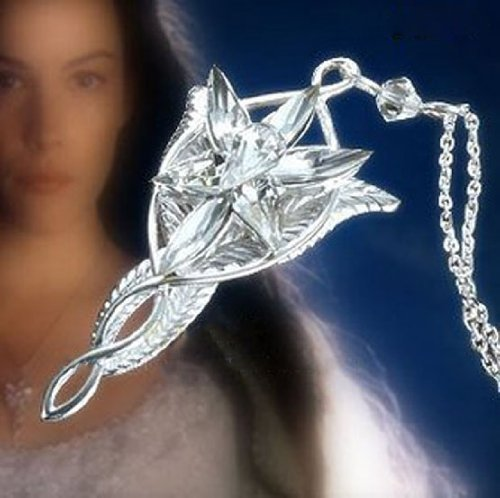 Lord of the rings silver plated arwen evenstar pendant import it all lord of the rings silver plated arwen evenstar pendant necklacelord rings necklace for women aloadofball Choice Image