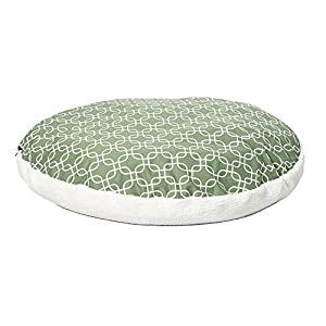 Quiet Time Teflon Green Round Dog Bed 85%OFF