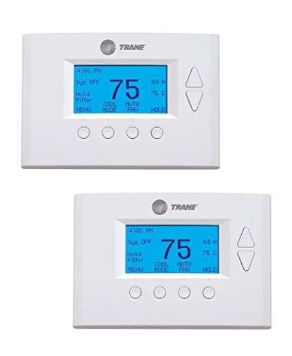 Trane TZ400BB3VZNNSL - Z-Wave Thermostat - 2 Pack