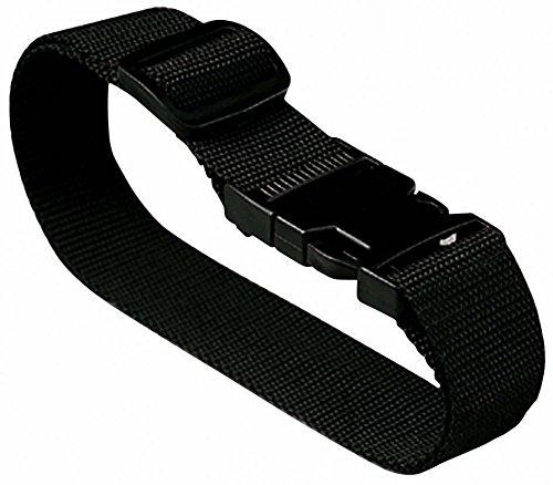 Lewis N. Clark Add-A-Bag Travel Luggage Strap, Black, One Size ()