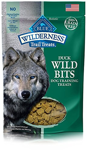 BLUE Wilderness Trail Treats Wild Bits Grain Free Training Dog Treats