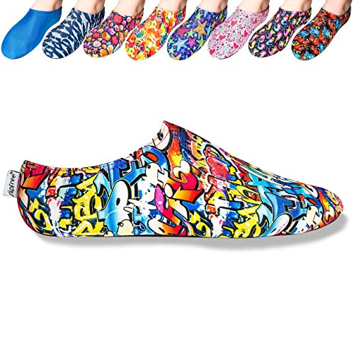 Slipfree Beach and Pool Shoes - Boys (Small, Hiphop Junior)