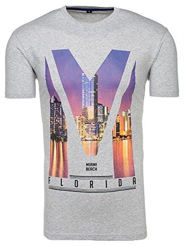 shirt 3c3 Grigio Designer Stampa Bolf A Uomo Da Con Manica Corta Casual T SPwq7qnxf