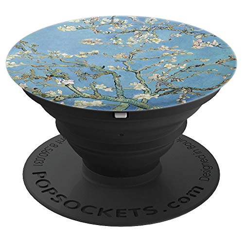 Modern Almond - Van Gogh Almond Blossoms Modern Art Oil Painting - PopSockets Grip and Stand for Phones and Tablets