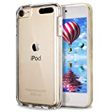 iPod Touch 6 Case,iPod Touch 5 Case,Dailylux Hard PC + Soft TPU Edge Protection Ultra thin Shockproof Cover with Air Cushion Technology Cover for iPod Touch 5th/6th Generation-Clear
